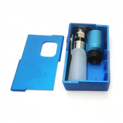 Goon Squonker Style 18650 ABS Squonk Mechanical Box Mod w/8ml Bottle + Goon 1.5 Style RDA - Blue