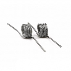 Authentic Vapefly Ni80 Fused Clapton Coil for Galaxies MTL RDA 0.5ohm - 28GA + 44GA x 2 x 16 (2pcs)