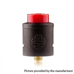 Authentic Hellvape Aequitas 24mm RDA Rebuildable Dripping Atomizer w/ BF Pin - Black