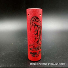Rogue Purity Style 18650 Hybrid Mechanical Mod - Matte Red