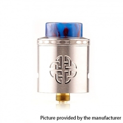 Authentic Hellvape Aequitas 24mm RDA Rebuildable Dripping Atomizer w/ BF Pin - Silver