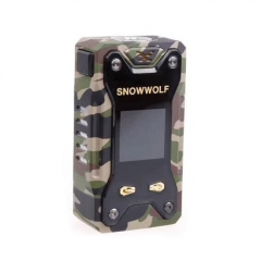 Authentic Sigelei Snowwolf Xfeng 230W TC VW Variable Wattage Box Mod - Green Camo