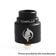 Authentic Augvape Templar 24mm RDA Rebuildable Dripping Atomizer w/ BF Pin - Silver