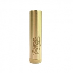 Purge The Truck Mod Style 18650/20700 26mm Hyrbird Mechanical Mod - Brass