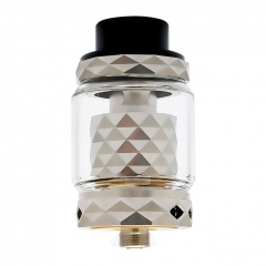 Authentic Marvec Priest RTA Rebuildable Tank Atomizer 4.2ml - Silver
