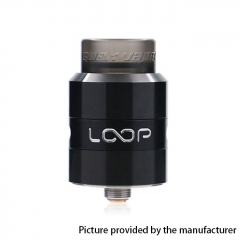Authentic Geekvape Loop 24mm RDA Rebuildable Dripping Atomizer w/ BF Pin - Black