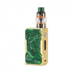 Authentic VOOPOO DRAG 157W TC VW Mod + UFORCE Kit 5ml (Standard Edition) - Gold Jade