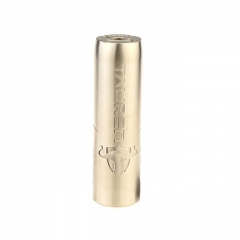 Authentic Thunderhead Creations THC Tauren 18650/20700/21700 Mechanical Mod - Brass