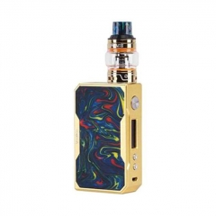 Authentic VOOPOO DRAG 157W TC VW Mod + UFORCE Kit 5ml (Standard Edition) - Gold Purple