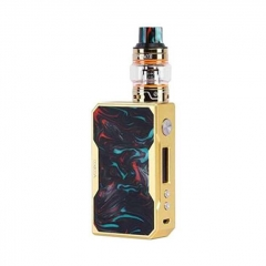 Authentic VOOPOO DRAG 157W TC VW Mod + UFORCE Kit 5ml (Standard Edition) - Gold Rainbow