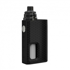Authentic Wismec Luxotic 100W Squonk 18650 Box Mod + Tobhino BF RDA w/7.5ml Kit - Black Honeycomb