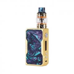 Authentic VOOPOO DRAG 157W TC VW Mod + UFORCE Kit 5ml (Standard Edition) - Gold Turquoise