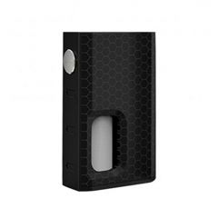 Authentic Wismec Luxotic 100W Squonk 18650 Box Mod w/7.5ml Bottle - Honeycomb Black