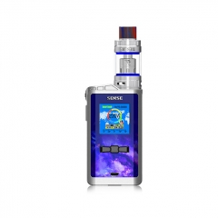 Authentic Sense Arrow 230W TC VW APV Box Mod w/5ml Atomizer Kit - Blue