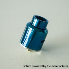 GOON Ti Style 24mm RDA Rebuildable Dripping Atomizer w/ BF Pin - Blue