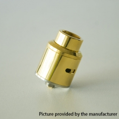 GOON Ti Style 24mm RDA Rebuildable Dripping Atomizer w/ BF Pin - Gold