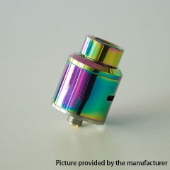 GOON Ti Style 24mm RDA Rebuildable Dripping Atomizer w/ BF Pin - Rainbow