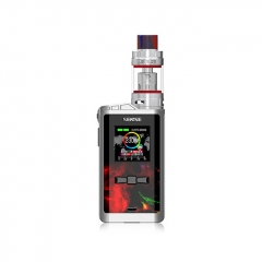 Authentic Sense Arrow 230W TC VW APV Box Mod w/5ml Atomizer Kit - Red