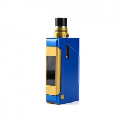 Limitless Marquee 80W 1800mAh TC VW APV Box Mod w/2ml Atomizer Kit - Blue