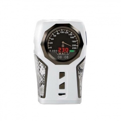 Authentic Sigelei Top1 230W VV/VW Temperature Control Mod - White
