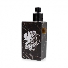 Hadari Style BF Squonk Mechanical Box Mod w/ 5.0ml Bottle Kit - Black