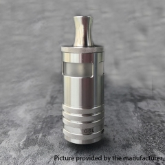 YFTK GSL 316SS RTA 23mm Rebuildable Tank Atomizer 5.0ml - Silver