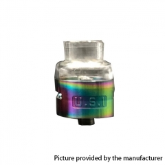 The U.S.1 V2 Style RDA Rebuildable Dripping Atomizer - Rainbow