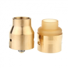 The U.S.1 V2 Style 24mm RDA Rebuildable Dripping Atomizer w/ Extra PEI Top Cap - Rainbow