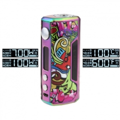Pre-Sale Vzone Cultura 100W 18650/20700 TC Temperature Control VW APV Box Mod - Rainbow