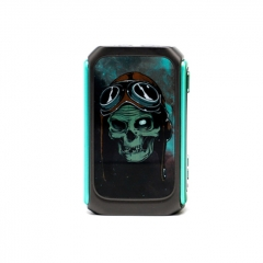 Pre-Sale Vzone Graffiti 220W Dual 18650 TC VW APV Box Mod - Gun Metal
