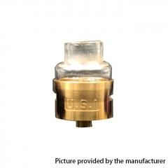 The U.S.1 V2 Style RDA Rebuildable Dripping Atomizer - Brass