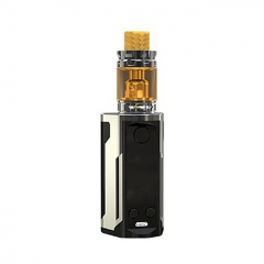 Authentic Wismec Reuleaux RX GEN3 Dual 230W TC VW Box Mod + GNOME King Tank w/GNOME King Tank 5.8ml Kit - Gun Metal
