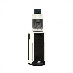 Authentic Wismec Reuleaux RX GEN3 Dual 230W TC VW Box Mod + GNOME King Tank w/GNOME King Tank 5.8ml Kit - Gradient White