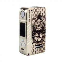 Authentic Dovpo Thunder 200W TC VW Variable Wattage Box Mod - Gold
