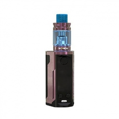 Authentic Wismec Reuleaux RX GEN3 Dual 230W TC VW Box Mod + GNOME King Tank w/GNOME King Tank 5.8ml Kit - Gloss Purple Brown