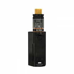 Authentic Wismec Reuleaux RX GEN3 Dual 230W TC VW Box Mod + GNOME King Tank w/GNOME King Tank 5.8ml Kit - Gloss Black