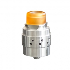 Authentic Cthulhu Iris Mesh 24mm BF RDA Rebuildable Dripping Atomizer - Silver