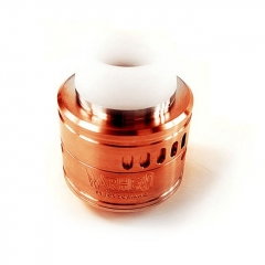 Kindbright Warhead Style 316SS RDA Rebuildable Dripping Atomizer w/ BF Pin 30mm- Copper