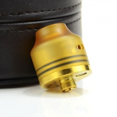 Wasp Nano Style RDA Rebuildable Dripping Atomizer w/ BF Pin - Yellow