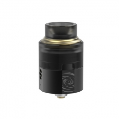 Authentic Vapefly Wormhole 24mm RDA Rebuildable Dripping Atomizer w/ BF Pin - Black