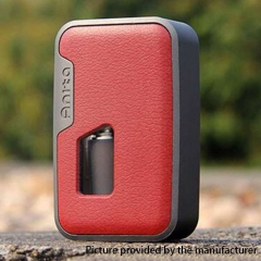 Authentic Arctic Dolphin Anita 100W TC VW Squonk Box Mod - Gray Frame + Red Leather