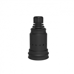 Berserker Style MTL 18mm RDA Rebuildable Dripping Atomizer w/BF Pin - Black
