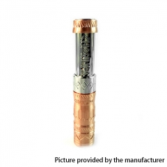 Kindbright Chanupa Style 18650 Stacked Hybrid Mechanical Mod - Copper