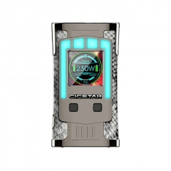 Authentic Cigstar Greek Temple 230W TC VW Variable Wattage Box Mod - Silver