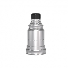 Berserker Style MTL 18mm RDA Rebuildable Dripping Atomizer w/BF Pin - Silver
