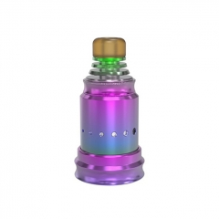 Berserker Style MTL 18mm RDA Rebuildable Dripping Atomizer w/BF Pin - Rainbow