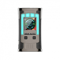 Authentic Cigstar Greek Temple 230W TC VW Variable Wattage Box Mod - Black