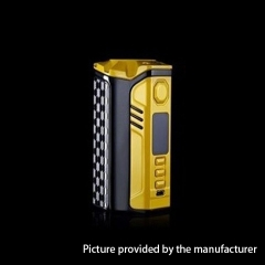 Authentic ThinkVape Finder DNA250C 250W TC VW Variable Wattage Box Mod - Yellow