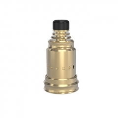 Berserker Style MTL 18mm RDA Rebuildable Dripping Atomizer w/BF Pin - Gold