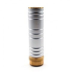 ULTON KMKAMO Style 18650 23mm Hybrid Mechanical Mod w/Extra 22mm/24mm Hybrid Connector - Silver
